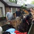 #GNvdD: Vrouw redt 21 honden van verdrinking tijdens orkaan Harvey