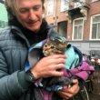 #GNvdD: Amsterdamse kat gered uit vogelnest