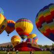 Luchtballonnen jagen paarden schrik aan