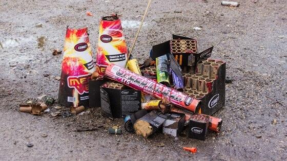 vuurwerkslachtoffers