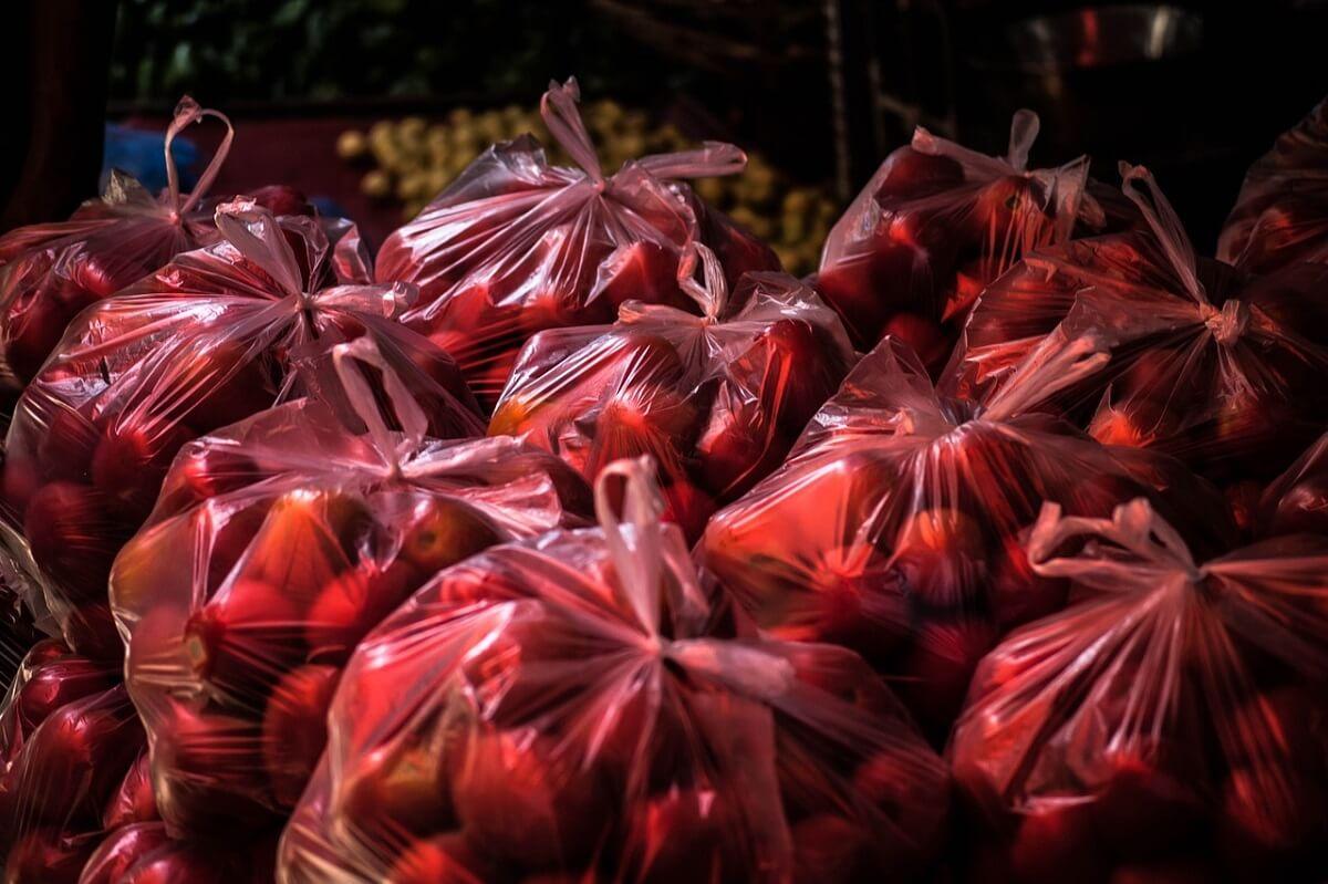 plastic wegwerptassen