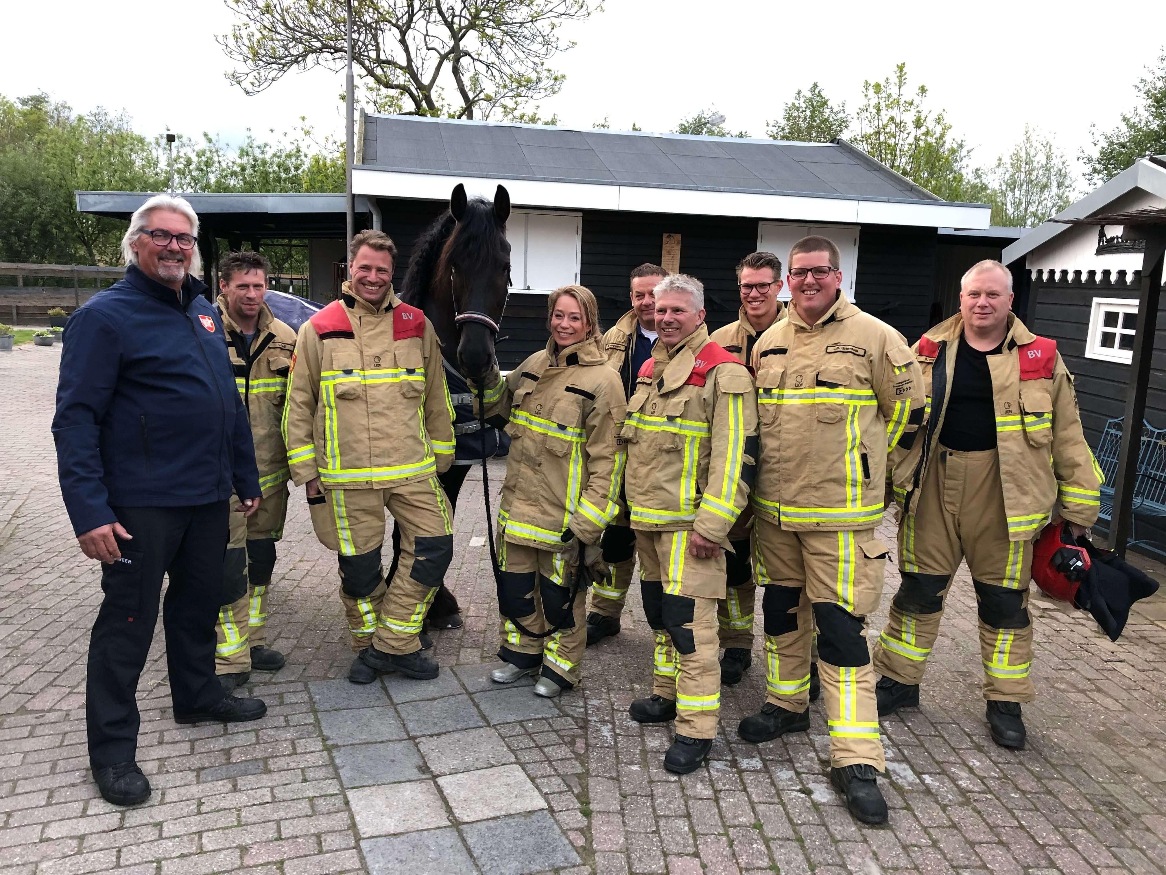 brandweer grote huisdieren