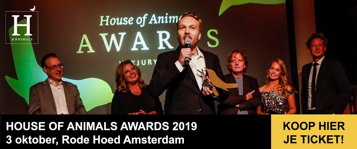 House of Animals Awards 2019 Gouden Vogels