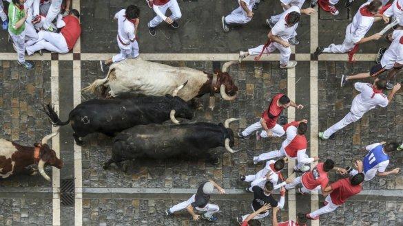 stierenrennen Pamplona