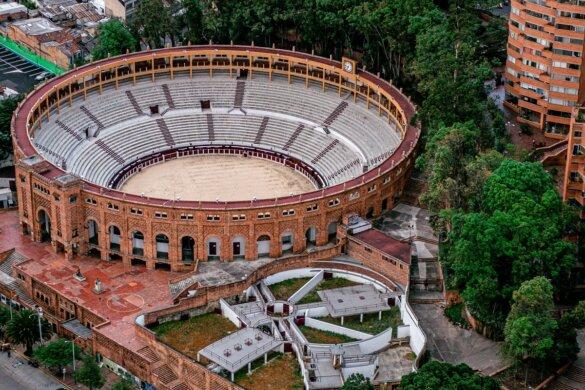 stierenvechten arena Bogota