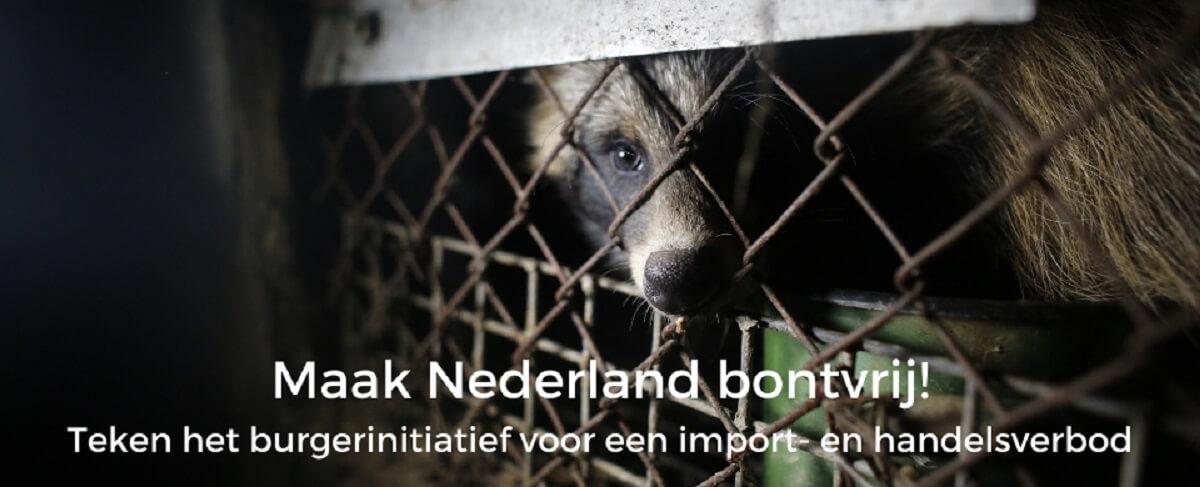 burgerinitiatief voor verbod op bont