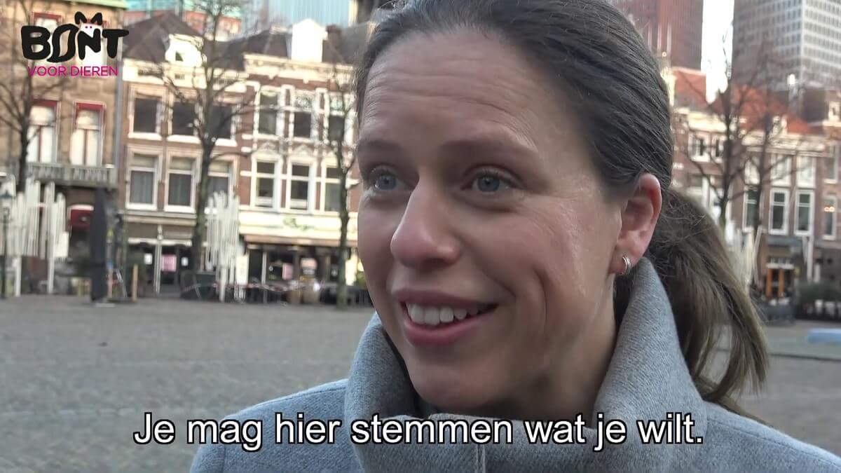 Minister Carola Schouten is Dom Bontje 2020