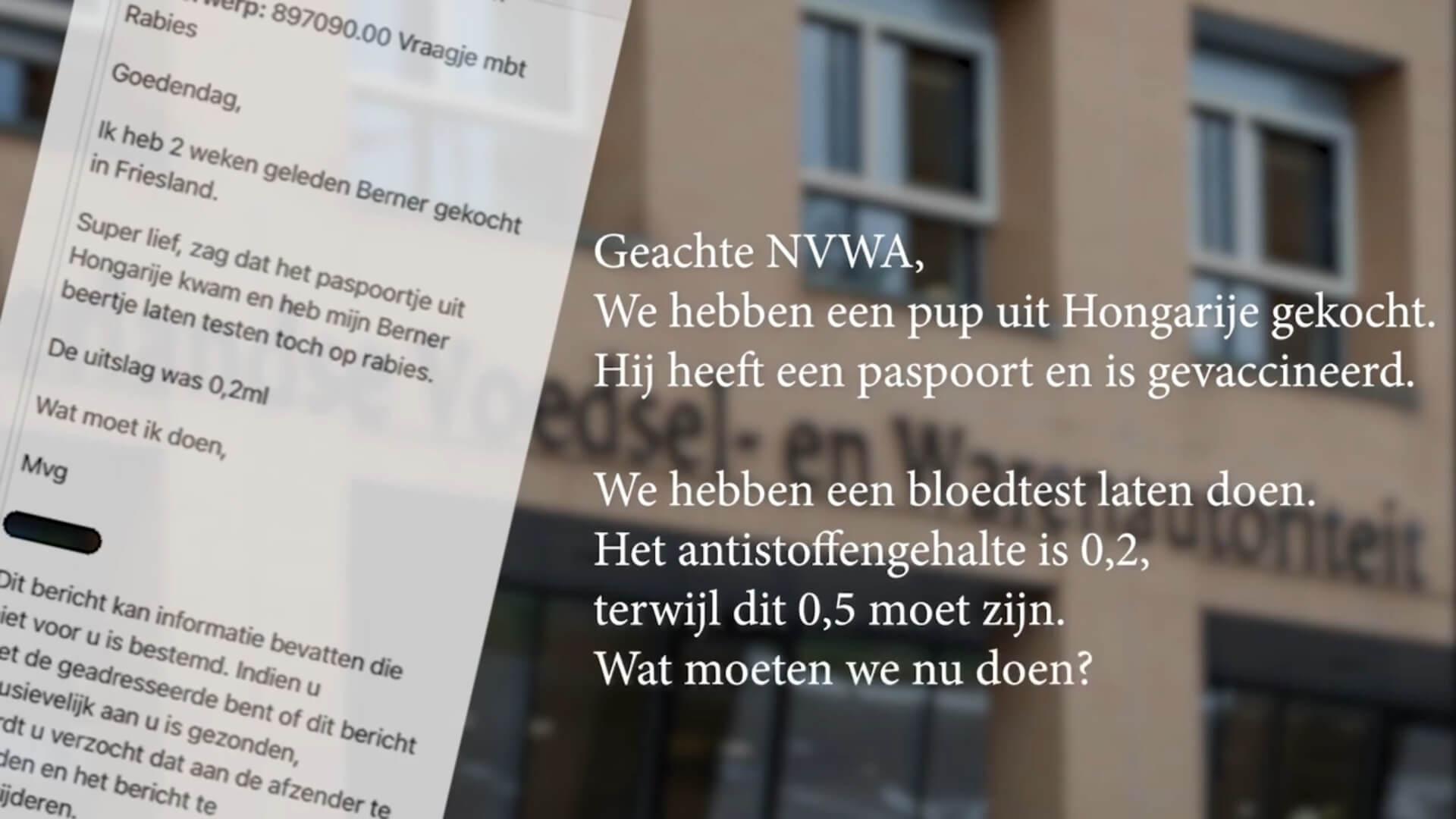 NVWA lapt Europese en nationale regelgeving aan de laars