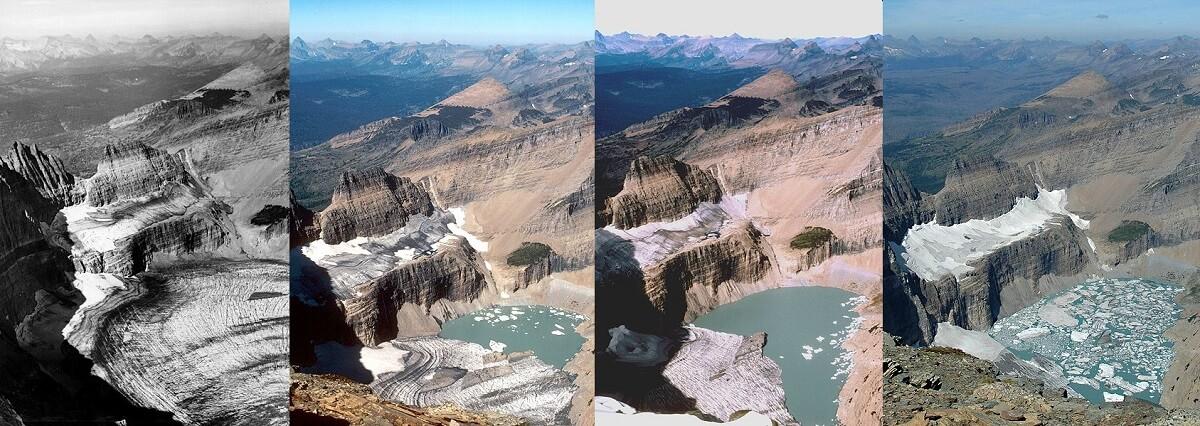 Grinnel Glacier gletsjerijs
