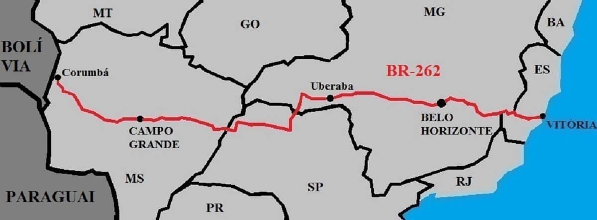 BR-262 Brazilië