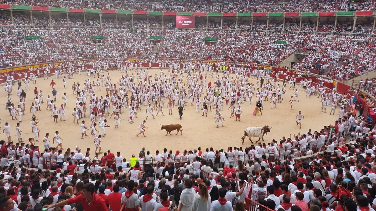 Ook dit jaar geen stierenrennen in Pamplona