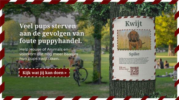 Campagne #Kwijt van House of Animals