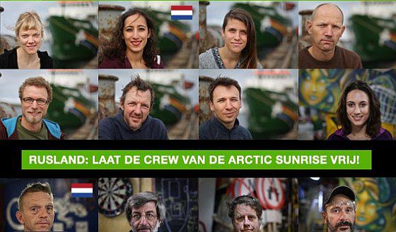 Greenpeace NL actievoerders uit gevangenis