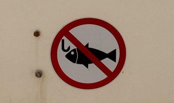 Verboden te vissen