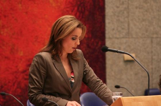 Marianne Thieme in Tweede Kamer