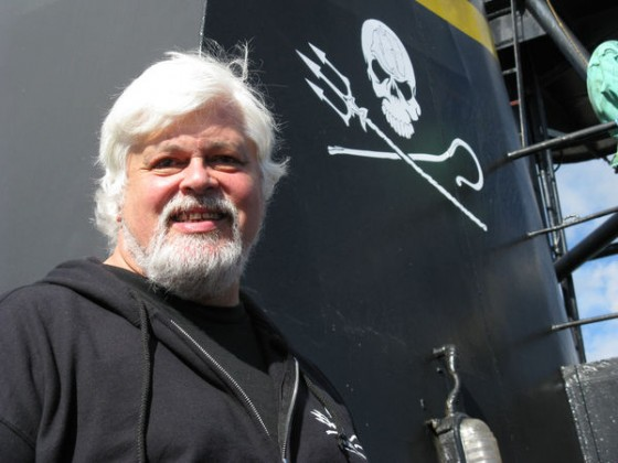 Captain Paul Watson Sea Shepherd