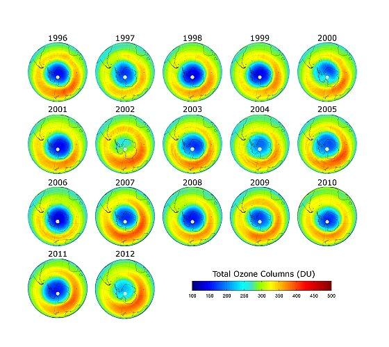 Antarctica ozonlaag