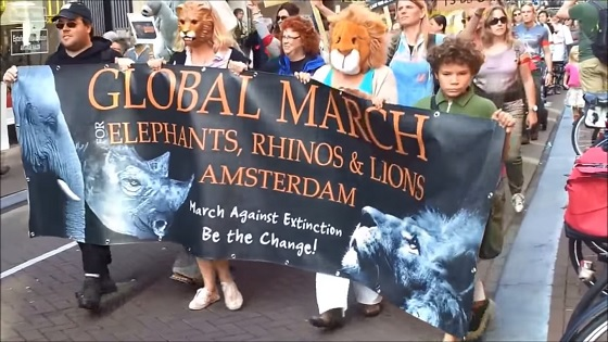 Global March for Elephants, Rhinos & Lions