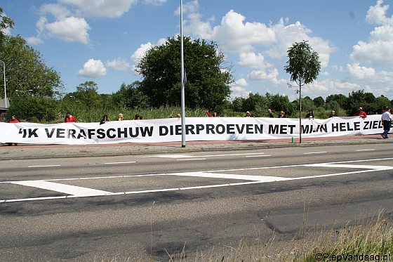 ADC actie BPRC, Rijswijk