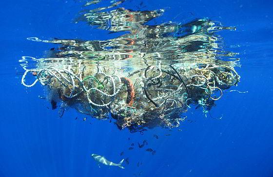 Afval - oceaan