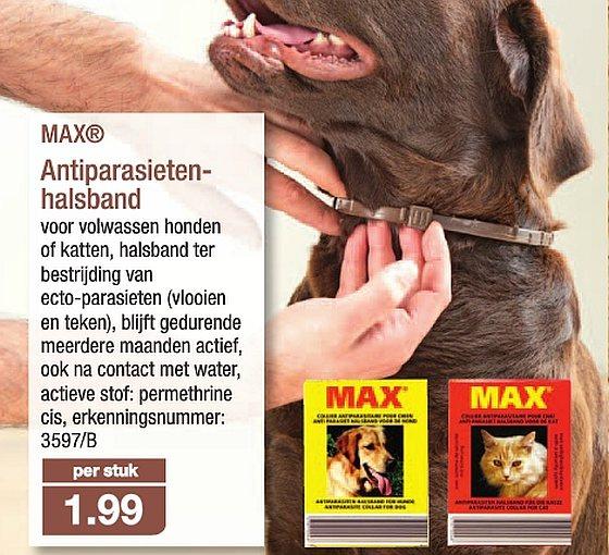 ALDI antiparasietenhalsband