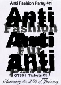 Anti fashion party