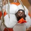 Dieren van Stichting AAP dol op voetballen