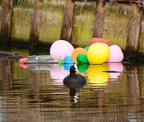 oplaten van ballonnen