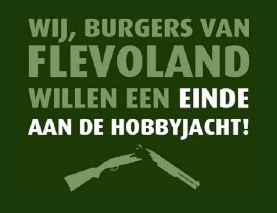 Burgerinitiatief Stop de hobbyjacht Flevoland