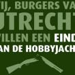 Burgerinitiatief 'Stop de hobbyjacht in provincie Utrecht' gestart