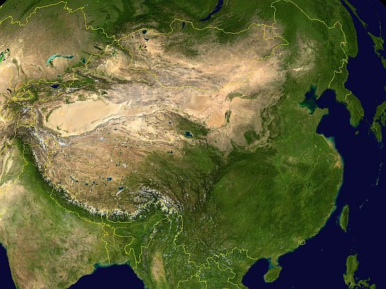 China satelliet
