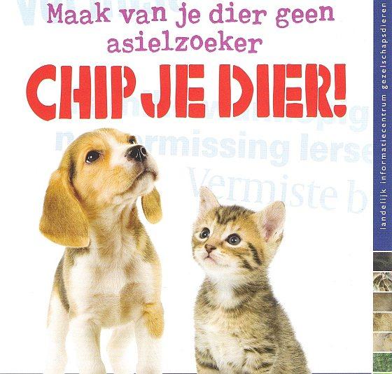 Chippen - verplichte hondenregistratie