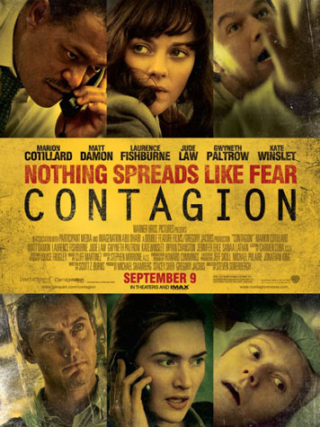Contagion filmposter