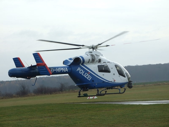 duitse politie helicopter
