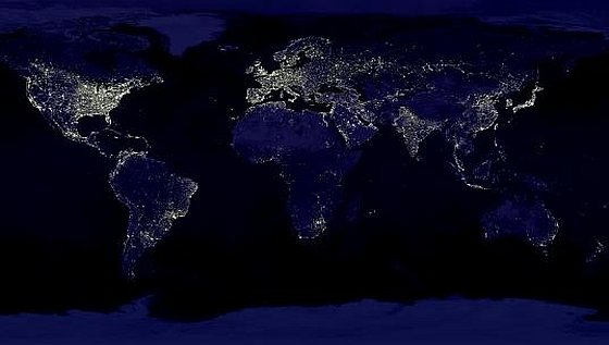 Earth Hour Turn off the Light