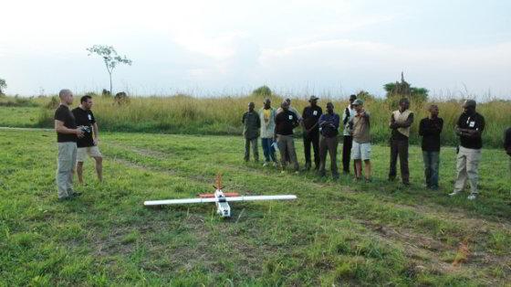 Eco-drone - crowdfunding-actie