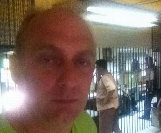 Edwin Wiek in gevangenis