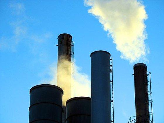 luchtvervuiling fabriek