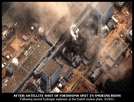 Fukushima kernreactor 3 straling