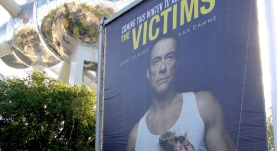 Jean-Claude van Damme op poster voor GAIA