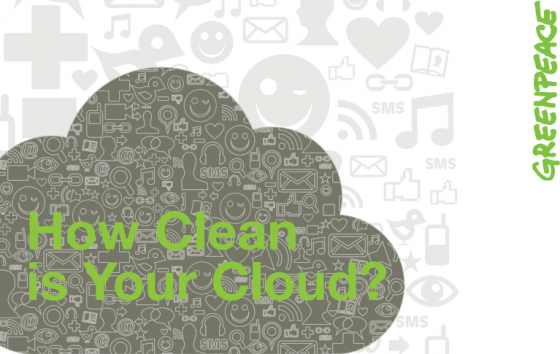 Greenpeace - How Clean is Your Cloud