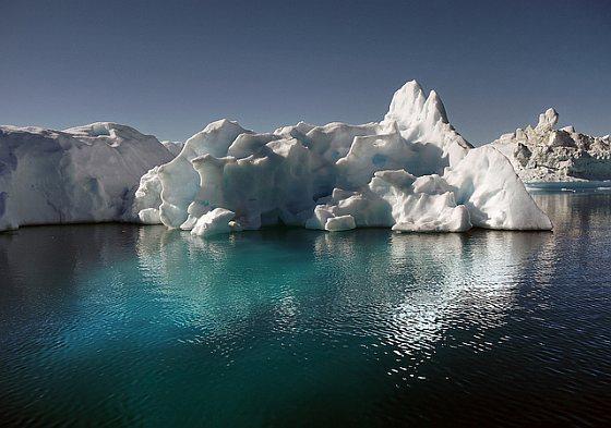 Groenland - ijsplaat