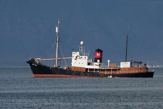 Hvalur 9 - walvisvaarder