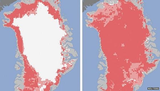 IJskap Groenland