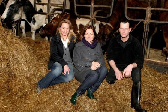 Karen, Marianne en Bert - Koeienrusthuis