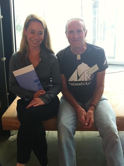 Karen Soeters en Mark Beckhoff