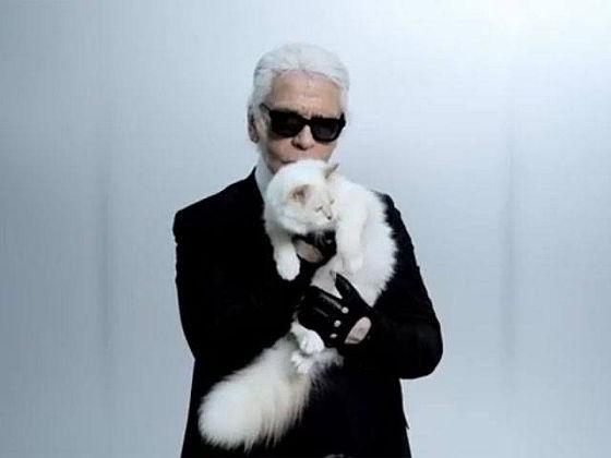 Karl Lagerfeld en Choupette