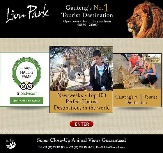 Lion Park - veiligheid