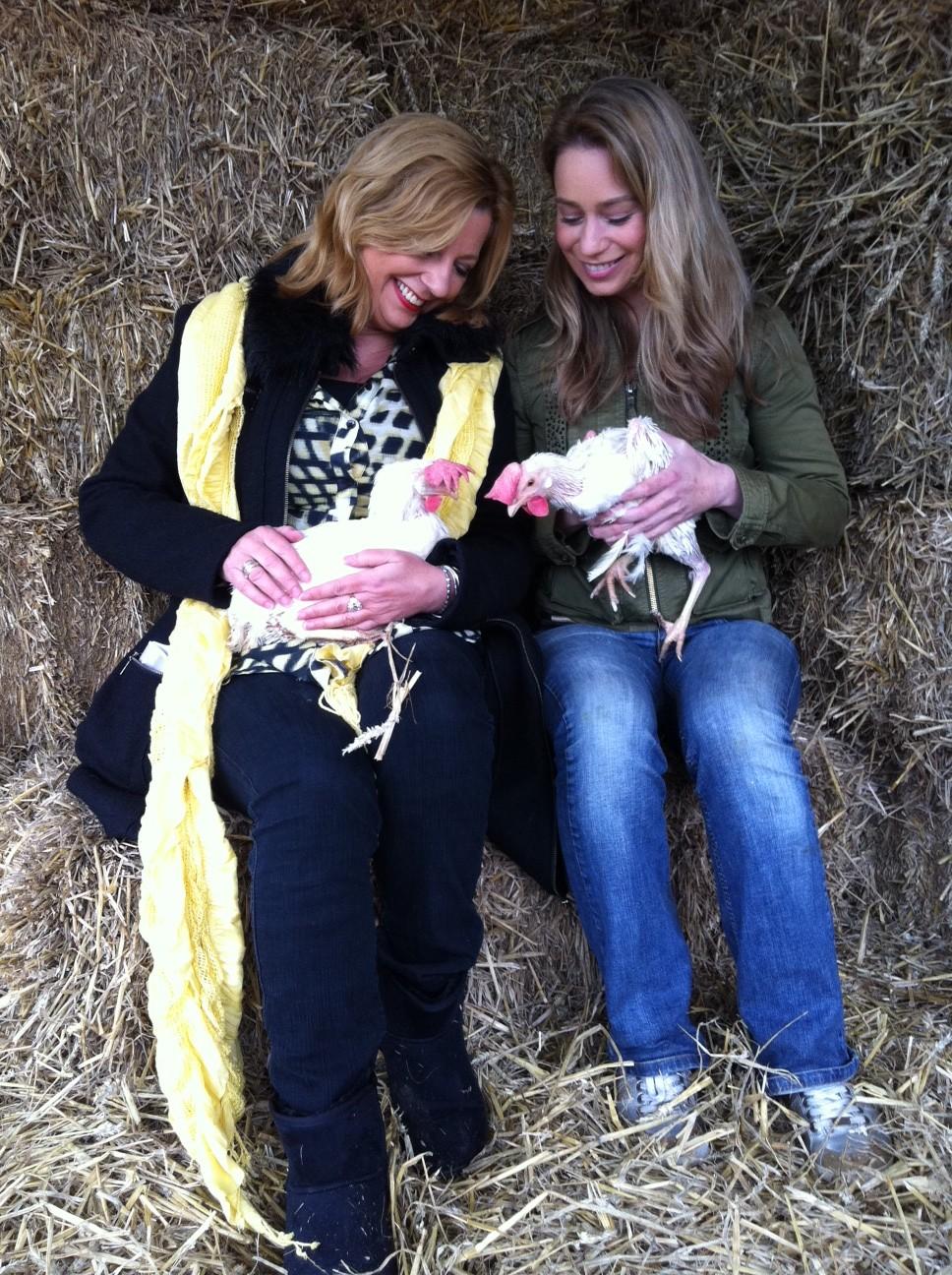 Loretta Schrijver en Karen Soeters