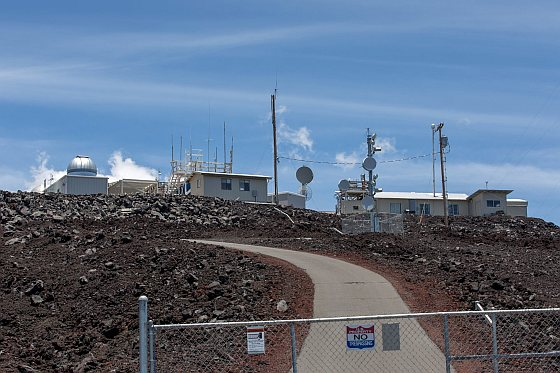 Mauna Loa Weather Observatory - Hawaii - CO2-uitstoot
